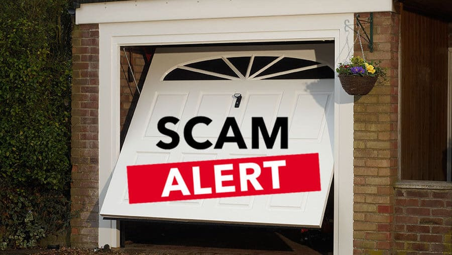 Don't get scammed over your Garage Door