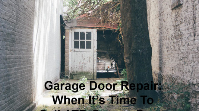 Garage Door Repair: When It's Time To Call ATR Garage Doors