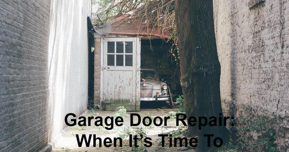 Garage Door Repair: When It's Time To Call ATR Garage Doors