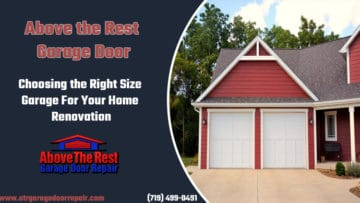 Choosing the Right Size Garage For Your Home Renovation