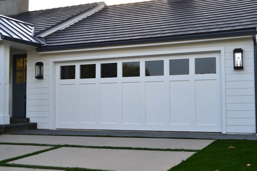Repaired Garage Door